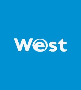 Логотип WEST
