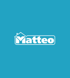 Логотип Matteo