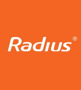 Логотип RADIUS