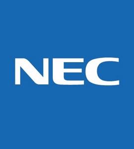 Логотип NEC