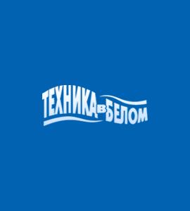 Логотип Техника в белом