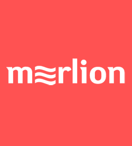 Логотип Мерлион