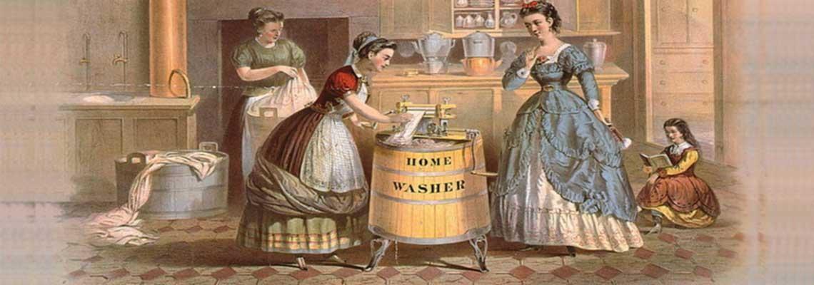 Первые стиральные машины, история создания и эволюция