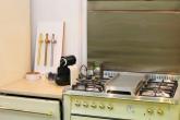 Плита, посудомойка и вытяжка LOFRA в ретро стиле