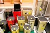 Современные высокотехнологичные корзины премиум-класса для мусора EKO