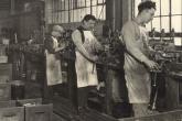 Процесс производства на фабрике