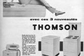 Крупная бытовая техника THOMSON, 1950 год