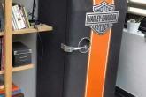 Холодильник в стиле Harley-Davidson