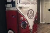 Холодильник стилизованный под микроавтобус Volkswagen T1