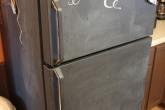 Холодильник-меловая доска