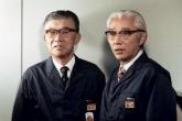 Масару Ибука и Акио Морита