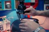 Измерение диаметра внешнего диска на линии штамповки