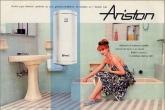 Реклама фирмы Ariston