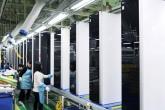 Производство холодильников LG